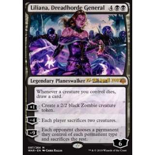 Liliana, Dreadhorde General - PROMO FOIL