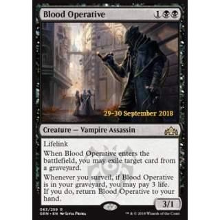 Blood Operative - PROMO FOIL