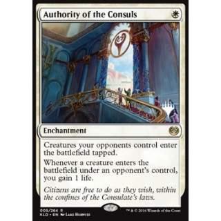 Authority of the consuls