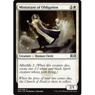 Ministrant of Obligation - FOIL