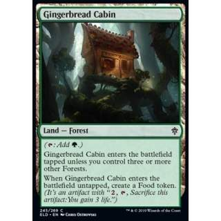 Gingerbread Cabin - FOIL