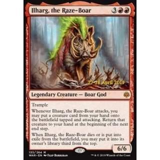 Ilharg, the Raze-Boar - PROMO FOIL