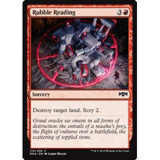 Rubble Reading - FOIL