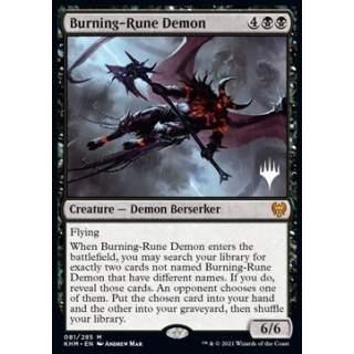 Burning-Rune Demon (V.2) - PROMO