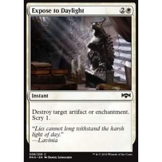 Expose to Daylight