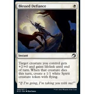 Blessed Defiance