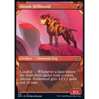 Akoum Hellhound - PROMO FOIL