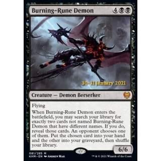Burning-Rune Demon (V.1) - PROMO FOIL