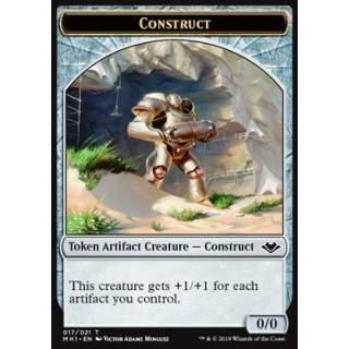 Construct Token (Artifact 0/0) - FOIL