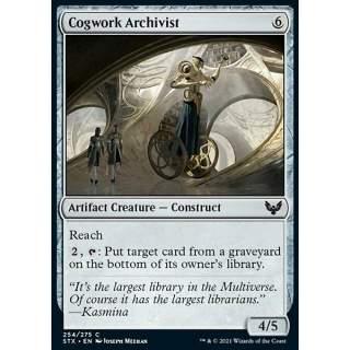 Cogwork Archivist - FOIL
