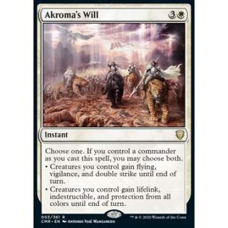 Akroma's Will - FOIL