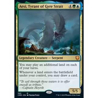 Aesi, Tyrant of Gyre Strait - PROMO FOIL