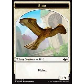 Bird Token (White 1/1) - FOIL