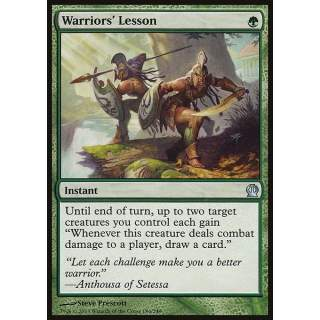 Warriors' Lesson
