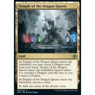 Temple of the Dragon Queen - FOIL