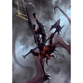 Art Series: Burning-Rune Demon (V.2) - PROMO