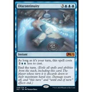 Discontinuity