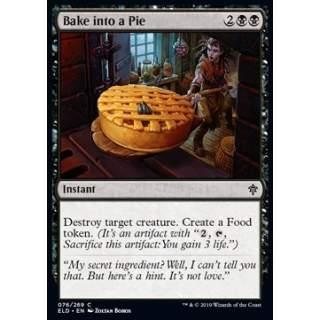 Bake into a Pie - FOIL