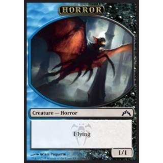 Horror Token (Blue and Black 1/1)