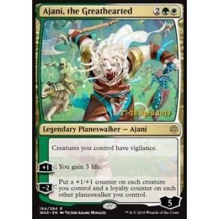 Ajani, the Greathearted - PROMO FOIL