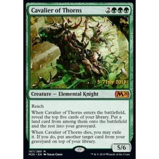 Cavalier of Thorns (Version 2) - PROMO FOIL