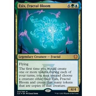 Esix, Fractal Bloom - FOIL
