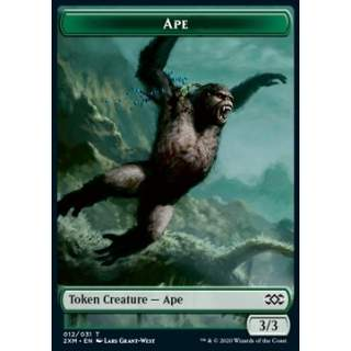 Ape Token (G 3/3) // Golem Token (A 3/3) - FOIL