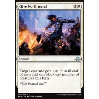 Give No Ground