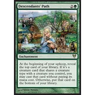 Descendants' Path