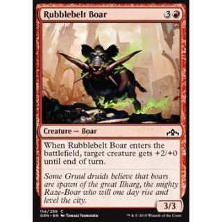Rubblebelt Boar - FOIL