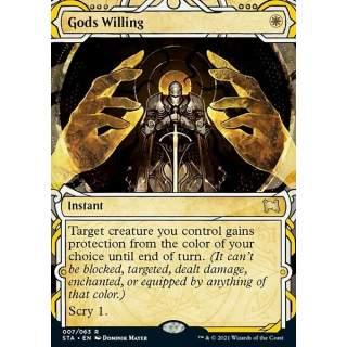 Gods Willing (V.3) - FOIL