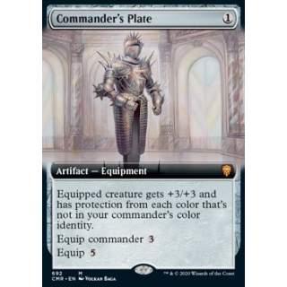 Commander's Plate - PROMO FOIL