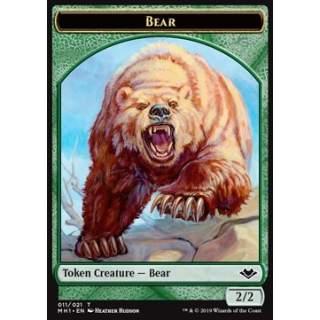 Bear Token (Green 2/2) - FOIL
