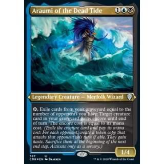 Araumi of the Dead Tide - PROMO FOIL