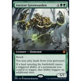 Ancient Greenwarden - PROMO FOIL