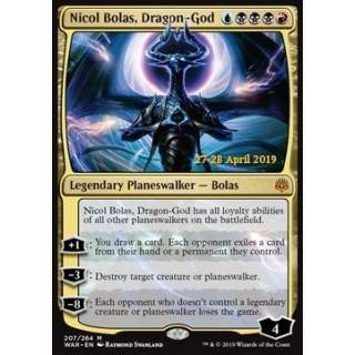 Nicol Bolas, Dragon-God - PROMO FOIL