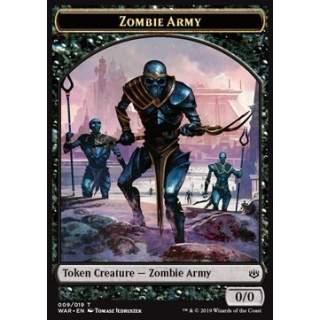 Zombie Army Token (Black 0/0) (Version 2)