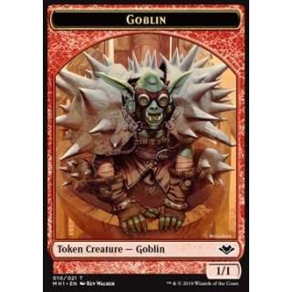 Goblin Token (R 1/1) // Elephant Token (G 3/3)