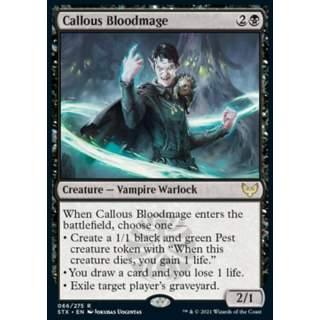 Callous Bloodmage - PROMO FOIL