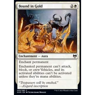 Bound in Gold - FOIL