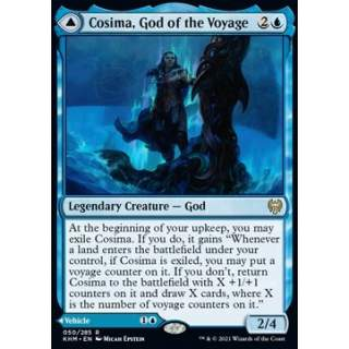 Cosima, God of the Voyage // The Omenkeel - FOIL