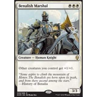 Benalish Marshal - FOIL