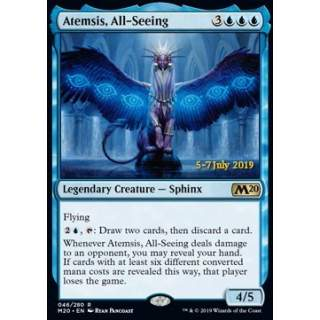 Atemsis, All-Seeing (Version 2) - PROMO FOIL