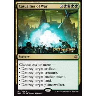 Casualties of War - PROMO FOIL