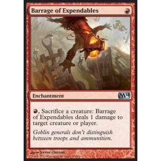 Barrage of Expendables