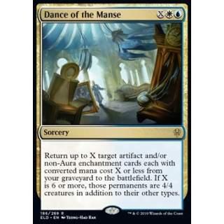 Dance of the Manse - FOIL