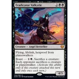 Eradicator Valkyrie (V.1) - PROMO FOIL