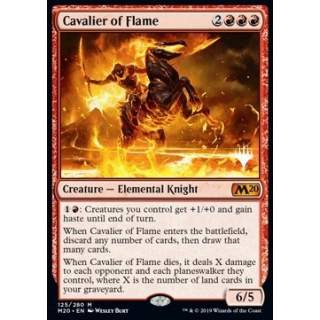 Cavalier of Flame (Version 1) - PROMO FOIL