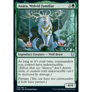 Anara, Wolvid Familiar