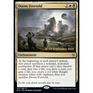 Doom Foretold (Version 1) - PROMO FOIL